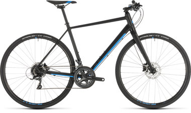CUBE SL ROAD BLACK/BLUE 2019