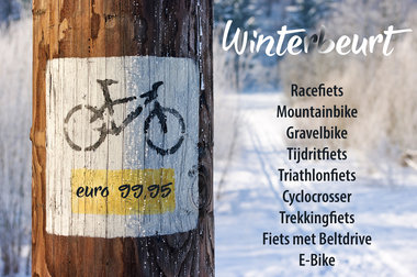 WINTERBEURT Triathlonfiets  2019 - 2020