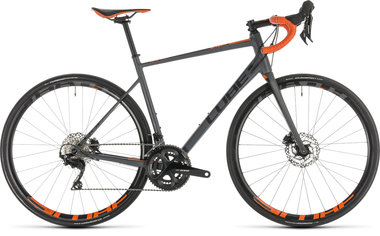 CUBE ATTAIN SL DISC GREY/ORANGE 2019