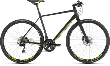 CUBE SL ROAD RACE BLACK/GREEN 2019