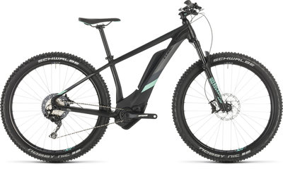CUBE ACCESS HYBRID RACE 500 BLACK/MINT 2019